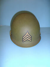 h45 WW 2 US  helmet shell hand painted Buck Sergeant