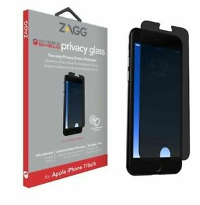 ZAGG iPhone 8 7 6s & 6  InvisibleShield Privacy Glass Screen Protector
