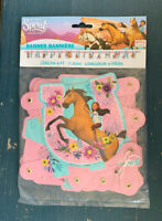 Spirit Riding Free Birthday Banner Decoration, Party Supplies