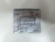 2004 - 2006 Kia Spectra Vacuum Hose Routing Diagram *New* OEM