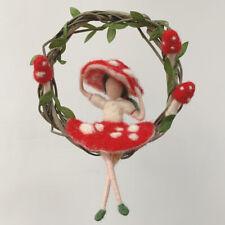 Needle Felting Kits Fairy DIY Christmas Craft Kits 15cm Height Video Description