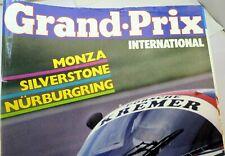 Grand Prix International Monza Silverstone Nurburgring Magazine June 1983