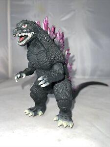 """1999 Bandai 6"""" Godzilla 2000 G-16 Soft Vinyl Figure Godzilla vs Orga"""