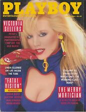 PLAYBOY APRIL 1986-A – TERI WEIGEL – JEFFREY MACDONALD – VICTORIA SELLERS!!!