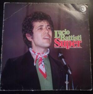 LUCIO BATTISTI - SUPER *ANNO1975  -DISCO VINILE 33 GIRI* N.160