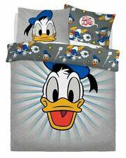 Official Disney Donald Duck 'Graphic' Double Bedding Duvet Quilt Cover Set