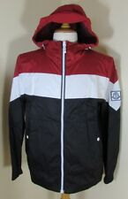 bnwt new MONCLER 'GAMME BLEU' Tricolour Jacket in Red/White/Blue by THOM BROWNE