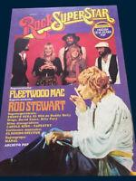 ROD STEWART - FLEETWOOD MAC Rock SuperStar magazine # 5 Argentina 1977