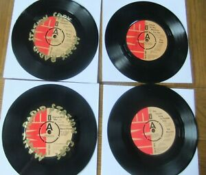 "VARIOUS.....4 X JOB LOT....POP SINGER..  1970'S 7""  VINYL...DEMOS...EMI.."