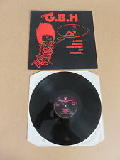 CHARGED G.B.H. Leather, Bristles, No Survivors And Sick Boys LP UK 1990 PRESSING