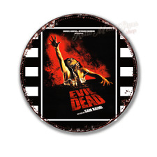 """THE EVIL DEAD   film movie  12"""" round circular  shaped metal tin sign"""