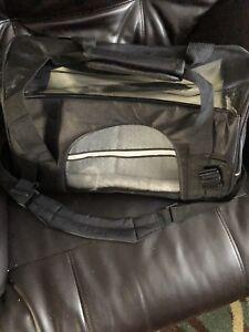 Pet XS dog Or Cat Carrying Bag. Black