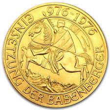 1976 Austria 1000 Schillings Gold Coin - SKU #37340