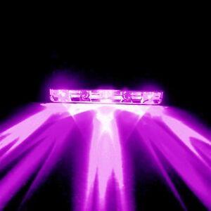 Purple / UV 5 LED Pod for Motorcycle/ ATV/ Bike/ Car Installs 12V Bar Light