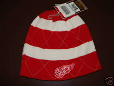 Detroit Red Wings Reversible Knit Toque Hockey Cap Hat