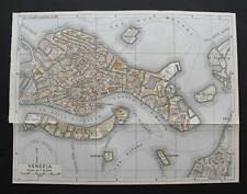 Antica Stampa=Topografica=VENEZIA =Scala1:20000 -1909c.