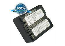 7.4 V Batteria per Panasonic NV-GS85, nv-gs80eb-s, NV-GS21, SDR-H250EB-S, VDR-D150
