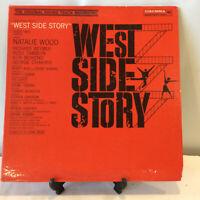 West Side Story Original Soundtrack Recording Record Album Vinyl See Condition