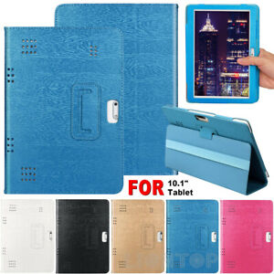 Universal Shockproof Leather Stand Cover Case For 10/10.1 Inch Android Tablet PC
