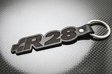 VW GOLF R28 Leather Keyring Keychain Schlüsselring Porte-clés R32 Rallye VR6 4WD