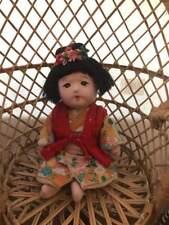 Vintage Ichimatsu Gofun Baby Girl  ichimatsu doll Great Condition