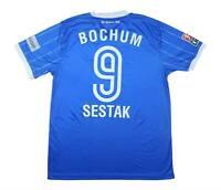VFL Bochum 2008-09 Authentic Home Shirt Sestak #9 (Excellent) L Soccer Jersey