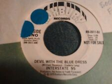 """Interstate 95 devil with the blue dress Brazil boogie funk northern soul  7"""" 45"""
