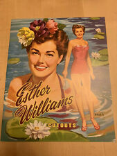 Esther Williams Vintage Reproduction Movie Star Paper Dolls-Uncut, Great Item!