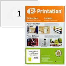 Etiketten DIN A5 210 X 148 Paket Aufkleber 200 Blatt weiß selbstklebend
