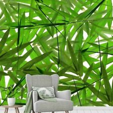 Bamboo Leaves 9' x 9' (2,75m x 2,75m)-Wall Mural