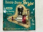Cox 0.020 Pee Wee Engine Vintage NIB Nitro Fuel