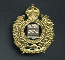 WW2 Canada Le Regiment De Joliette Cap Badge 46 mm x 38 mm
