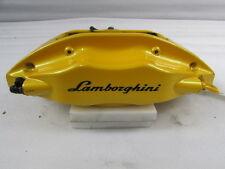 Lamborghini Gallardo, RH Rear Brake Caliper, Yellow, Used, P/N 400615406N