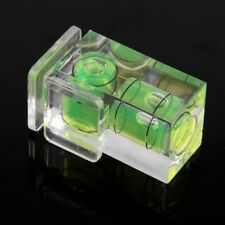 Hot Shoe Two Axis Double Bubble Spirit Level Mount For Camera SLR DSLR Canon TR
