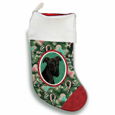 Greyhound Christmas Stocking
