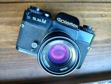Rollei SL35 M 35mm Film SLR Camera with HFT 50mm f1.8 Planar Lens
