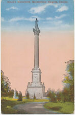 Canada 1920 Vf mint coloured pc Brock's Monument Queenston Heights Ontario