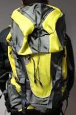 Camel Pack Backpack Rucksack Bag Large 60L Hiking Camping Hydration | Yellow