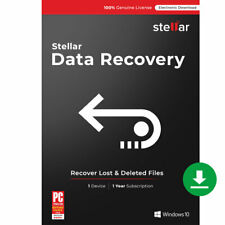 Stellar Windows Data Recovery Standard Recover Deleted File Download Link + Key