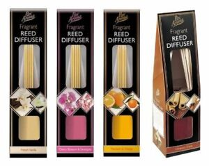 HOME FRAGRANCE AIR FRESHENER REED DIFFUSER  AROMATIC PERFUME SCENT SET HOME