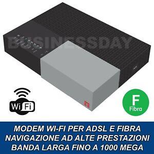 Modem TIM HUB Fibra 1000 Mega Router Wireless WiFi 5GHZ 2.4GHZ Nuovo Modello
