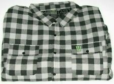 Monster Energy Long Sleeve Lined Flannel Shirt Size 3XL Brand New in Package