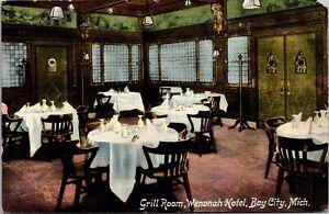 Postcard Grill Room at Wenonah Hotel in Bay City, Michigan~135428