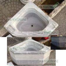 ANTICO LAVANDINO VASCA IN MARMO LAVELLO ANGOLARE cm.50x50 -Ancient marble sink