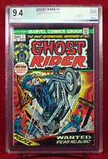 GHOST RIDER #1 (Marvel 1973) PGX (not CGC) 9.4 NM 1st DAIMON HELLSTROM HTF !!!
