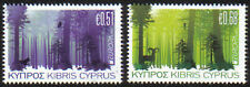 Cyprus Stamps SG 1246-47 2011 Europa Forests MINT Not hinged