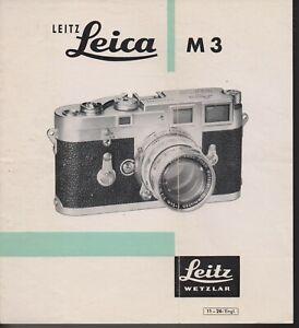 LEICA , LEITZ , M3