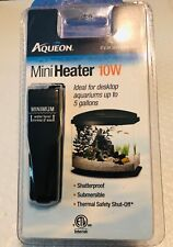 Aqueon Mini Heater 10 Watt Cul Desktop Aquariums. **Free Shipping**