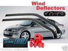 RENAULT Megane II  2002 - 2008 4/5D  Wind deflectors HEKO 27145 for FRONT DOORS