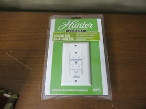 Hunter Universal Ceiling Fan Wall Control Model #99375 OPEN BOX